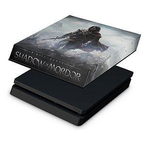 PS4 Slim Capa Anti Poeira - Middle Earth: Shadow of Mordor
