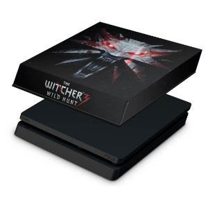 PS4 Slim Capa Anti Poeira - The Witcher #A