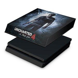 PS4 Slim Capa Anti Poeira - Uncharted 4