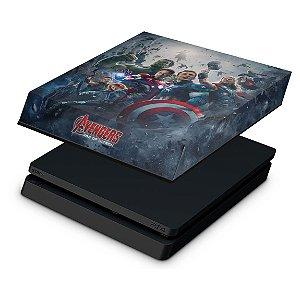PS4 Slim Capa Anti Poeira - Avengers - Age of Ultron