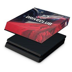 PS4 Slim Capa Anti Poeira - DriveClub