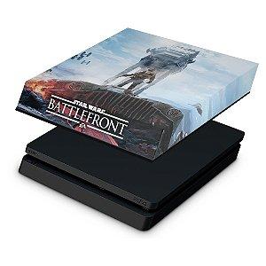 PS4 Slim Capa Anti Poeira - Star Wars - Battlefront