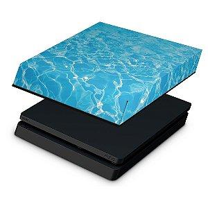 PS4 Slim Capa Anti Poeira - Aquático Água