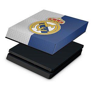PS4 Slim Capa Anti Poeira - Real Madrid