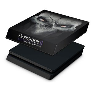 PS4 Slim Capa Anti Poeira - Darksiders Deathinitive Edition