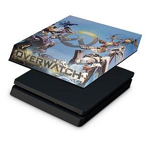 PS4 Slim Capa Anti Poeira - Overwatch