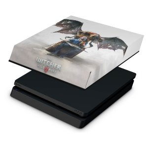 PS4 Slim Capa Anti Poeira - The Witcher 3: Wild Hunt - Blood and Wine