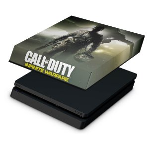 PS4 Slim Capa Anti Poeira - Call of Duty: Infinite Warfare