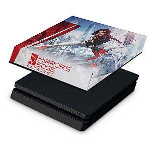 PS4 Slim Capa Anti Poeira - Mirror's Edge Catalyst