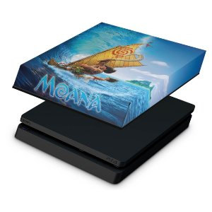 PS4 Slim Capa Anti Poeira - Moana