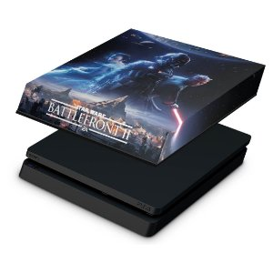 PS4 Slim Capa Anti Poeira - Star Wars - Battlefront 2
