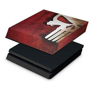 PS4 Slim Capa Anti Poeira - The Punisher Justiceiro