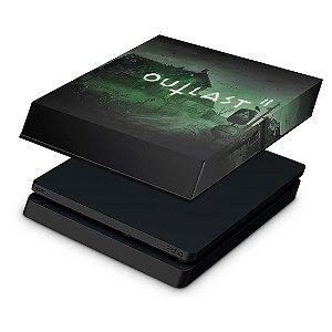 PS4 Slim Capa Anti Poeira - Outlast 2