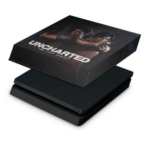 PS4 Slim Capa Anti Poeira - Uncharted Lost Legacy