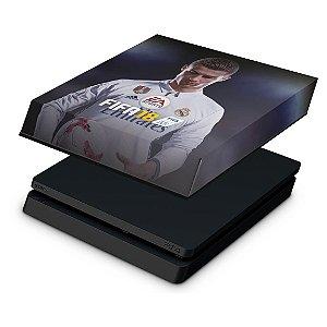PS4 Slim Capa Anti Poeira - Fifa 18