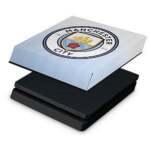 PS4 Slim Capa Anti Poeira - Manchester City FC