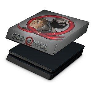 PS4 Slim Capa Anti Poeira - God of War 4
