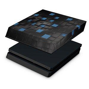 PS4 Slim Capa Anti Poeira - Cubos