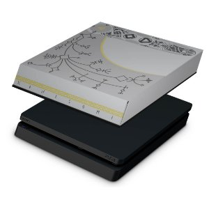 PS4 Slim Capa Anti Poeira - God Of War Limited Edition
