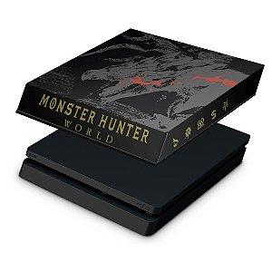 PS4 Slim Capa Anti Poeira - Monster Hunter Edition