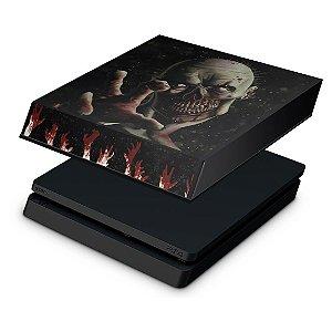 PS4 Slim Capa Anti Poeira - Zombie Zumbi The Walking