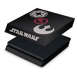 PS4 Slim Capa Anti Poeira - Star Wars Battlefront 2 Edition