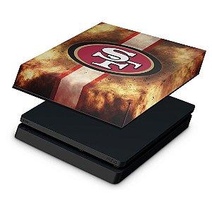 PS4 Slim Capa Anti Poeira - San Francisco 49ers - NFL