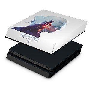 PS4 Slim Capa Anti Poeira - Battlefield V