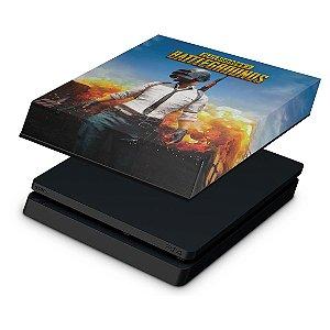 PS4 Slim Capa Anti Poeira - Players Unknown Battlegrounds PUBG