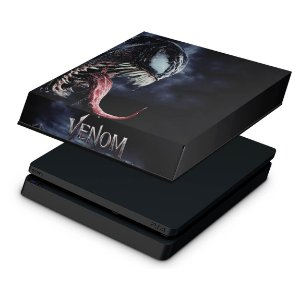 PS4 Slim Capa Anti Poeira - Venom
