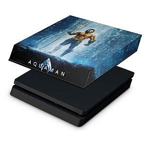 PS4 Slim Capa Anti Poeira - Aquaman