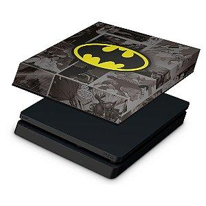 PS4 Slim Capa Anti Poeira - Batman Comics