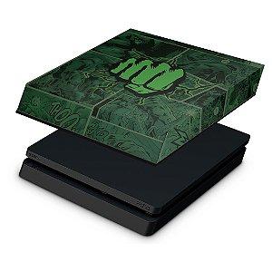 PS4 Slim Capa Anti Poeira - Hulk Comics