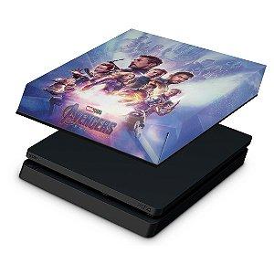 PS4 Slim Capa Anti Poeira - Vingadores Ultimato Endgame
