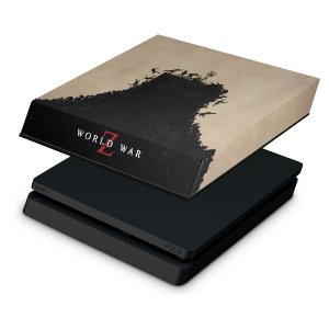 PS4 Slim Capa Anti Poeira - World War Z