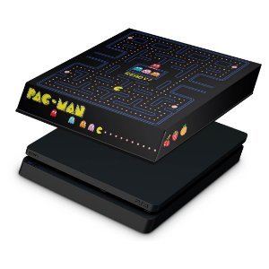 PS4 Slim Capa Anti Poeira - Pac Man