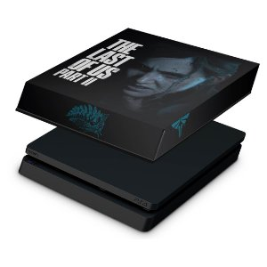 PS4 Slim Capa Anti Poeira - The Last Of Us Part 2 II B