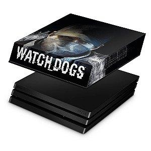 PS4 Pro Capa Anti Poeira - Watch Dogs