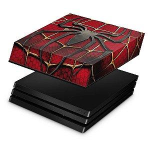 PS4 Pro Capa Anti Poeira - Spider Man - Homem Aranha