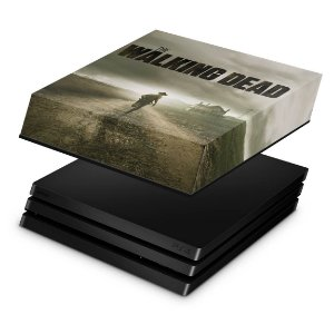 PS4 Pro Capa Anti Poeira - The Walking Dead