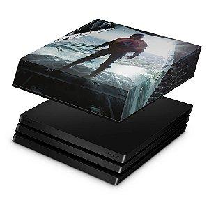 PS4 Pro Capa Anti Poeira - Capitao America
