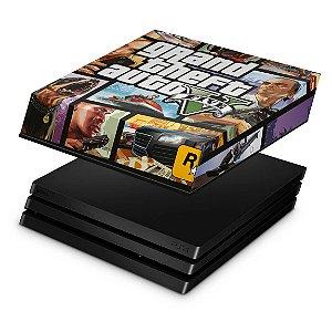 PS4 Pro Capa Anti Poeira - GTA V