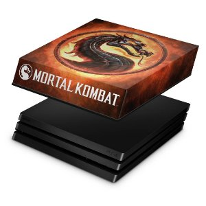 PS4 Pro Capa Anti Poeira - Mortal Kombat