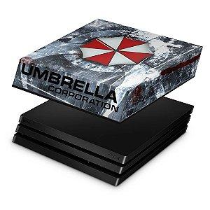 PS4 Pro Capa Anti Poeira - Resident Evil Umbrella