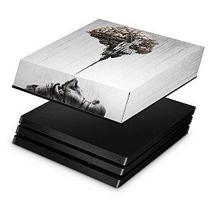 PS4 Pro Capa Anti Poeira - The Evil Within