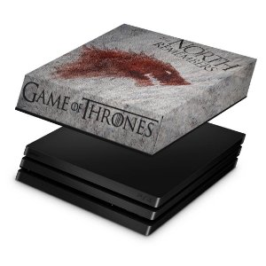PS4 Pro Capa Anti Poeira - Game of Thrones #A