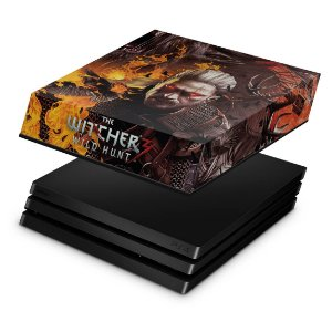 PS4 Pro Capa Anti Poeira - The Witcher #B