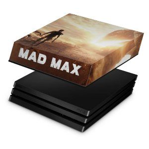PS4 Pro Capa Anti Poeira - Mad Max