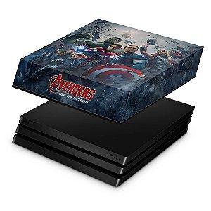 PS4 Pro Capa Anti Poeira - Avengers - Age of Ultron