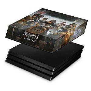 PS4 Pro Capa Anti Poeira - Assassins Creed Syndicate